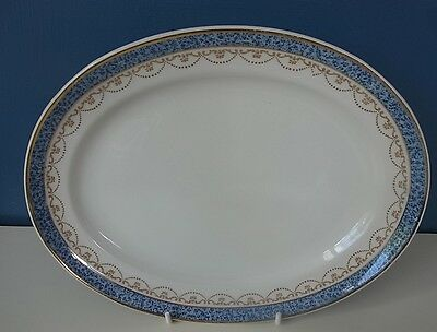 """LOSOL WARE - KEELING & CO - LARGE OVAL PLATE """"#5226"""" - 11.75"""" x 9"""", 1920's, VGC"""
