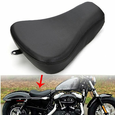 AU Leather Front Driver Solo Seat Cushion Pad For Harley Sportster XL1200 883