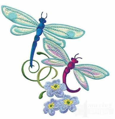 Dragonfly Dreams Collection - Machine Embroidery Designs On Cd