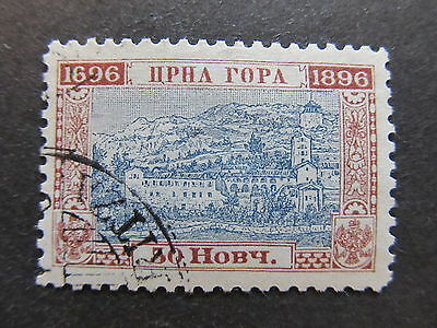 A4P47 Montenegro 1896 50n used #66