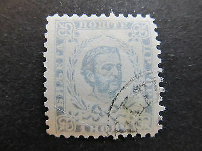 A4P47 Montenegro 1894-98 1n Perf 10 1/2 used #42