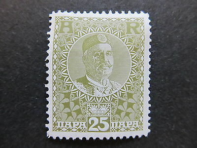 A4P48 Montenegro Receipt Stamp 1913 25pa mh* #101