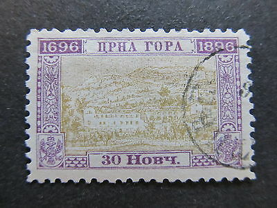 A4P47 Montenegro 1896 30n used #64