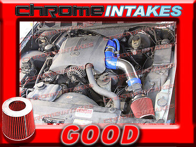 """Blue Red 96-02 Ford Crown Victoria/mercury Grand Marquis V8 Full Air Intake 3.5"""""""