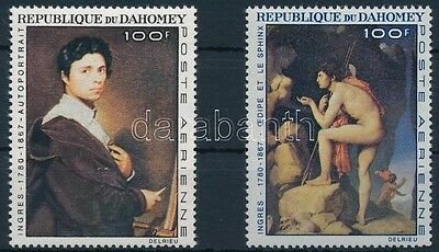 Benin (Dahomey) stamp 1967 Paintings set MNH Mi 307-308 (501)