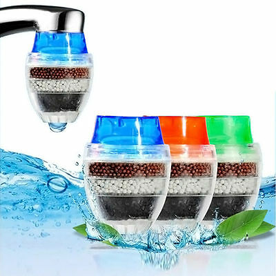 1pc Coconut Carbon Home Kitchen Faucet Tap Water Clean Purifier Filter Cartridge