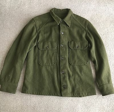 US Army M1951 Cold Weather Shirt - Large.