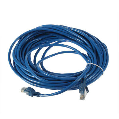50FT RJ45 CAT5 CAT5E Ethernet Network Lan Router Patch Cable Cord 15M SD
