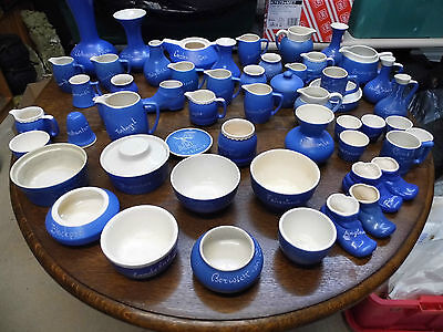 Large job lot of Devon Blueware over 50 items (lot A) Priced to sell