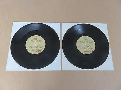 "KIRSTY MacCOLL Free World VERY RARE 2 x 10"" TOWNHOUSE STUDIOS ACETATE SET POGUES"