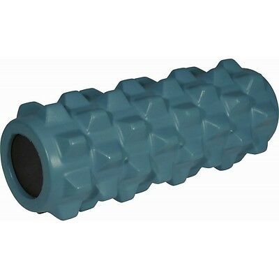 More Mile Xcelerator Foam Roller Gym Massage Physio Sports Injury Yoga Blue