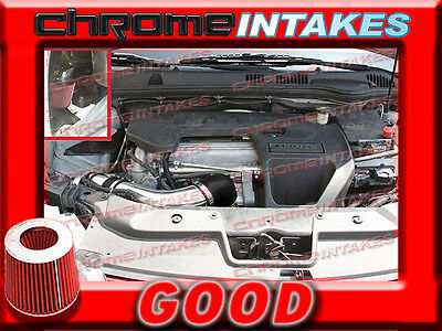 RED 2007-2009/07 08 09 PONTIAC G5 G 5 2.2 2.2L 2.4 2.4L I4 FULL AIR INTAKE KIT Car & Truck Air Intake & Fuel Delivery Parts