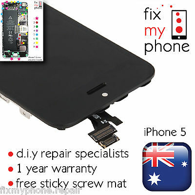 For Apple iPhone 3GS 4 4s 5 5s 5c 6 6+ LCD Touch Screen + Digitizer  and Tools