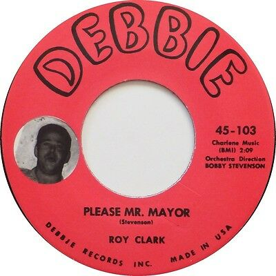 Roy Clark 45 Re - Please Mr Major/puddin' - Great Debbie Jiver Super Guitar Solo