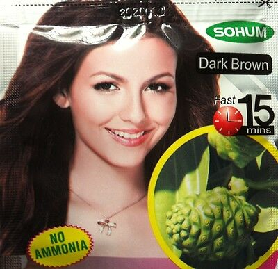 Fast dye hair color shampoo natural herbal extract Chemical free change color