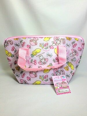 NEW My Melody Aluminium Cooler Lunch Bag Sanrio JAPAN New Design cute kawaii