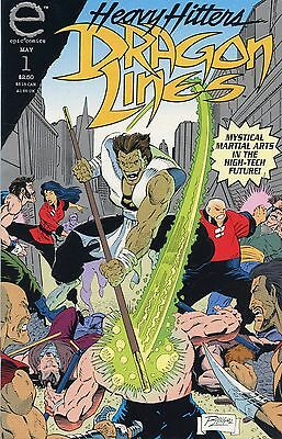 Dragon Lines #1 (May 1993, Marvel) NM
