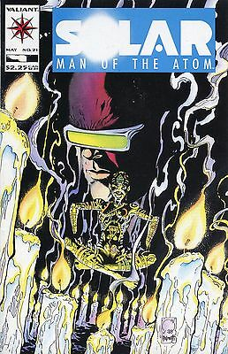 Solar, Man of the Atom #21 (May 1993, Acclaim / Valiant) NM