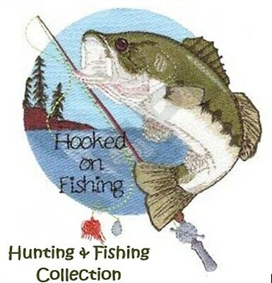 Hunting & Fishing Collection - Machine Embroidery Designs On Cd