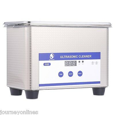 SKYMEN JP - 008 Mini Ultrasonic Jewelry Cleaner Bath for Watches Rings Coins UK