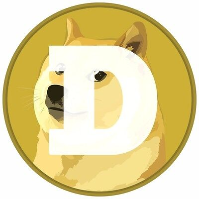 1000 Dogecoin (1k Dogecoins) Straight to Wallet + BONUS--I WILL PRICE MATCH!
