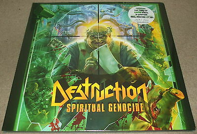 "Destruction-Spiritual Genocide-2012 Lp+7"" Green Vinyl-Limited To 250-New+Sealed"