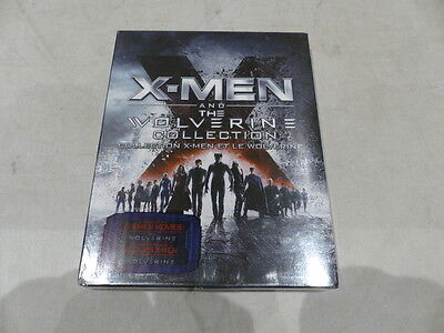 X-Men And The Wolverine Collection Blu-Ray X-Men Et Le Wolverine New