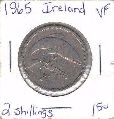 Ireland 1965 2 Shillings Coin