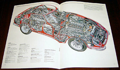 Ferrari 275 - technical cutaway drawing