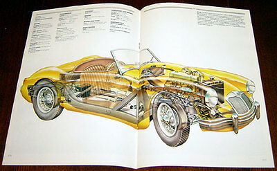 MGA - technical cutaway drawing