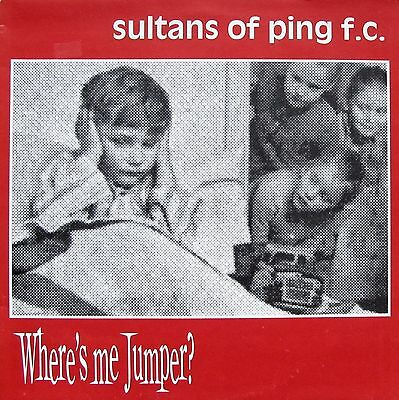 """Sultans Of Ping - Where's My Jumper? (12"""" vinyl, vg+, 1991, ATHY 01T)"""