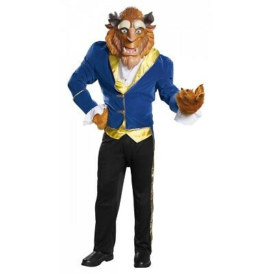Beast Costume Adult Beauty and The Beast Halloween Fancy Dress