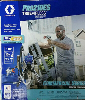 New Graco Pro 210Es 3000 Psi Painting Spray Tip Electric Airlesspaint Sprayer