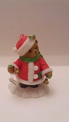 """Cherished Teddies  Nan """" Ring in the holidays """" 4013430E"""