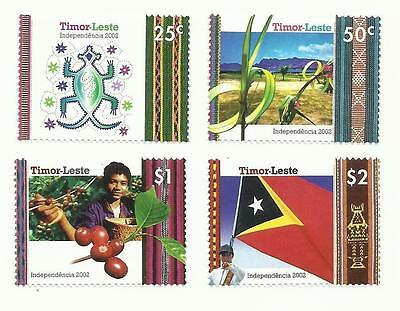 East Timor 2002 Independence MNH