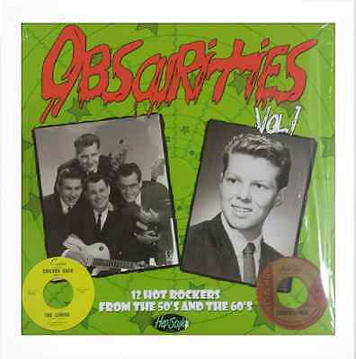 "VA. OBSCURITIES VOL 1 10"" - THE CITATIONS, CURIOS-FANTASTIC RARE ROCKERS 50s/60s"