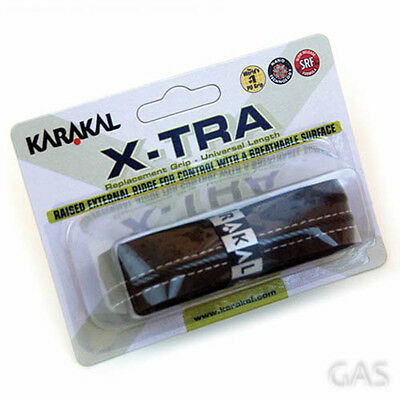 Karakal X-Tra Replacement PU Grip Racquet Racket Badminton Tennis Squash Racketb