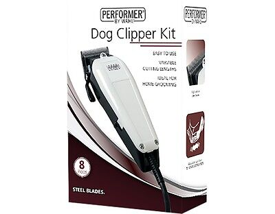 Wahl 9160-800 Performer Dog/cat/animal Clipper Kit With Steel Blades