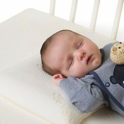 Clevamama ClevaFoam Baby Pillow - Therapeutic Pillow for Baby - Reduce Strain