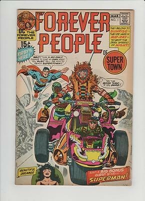 High Grade DC Comic:1971 Forever People #1 Second  Darkseid First Full  (L-066)