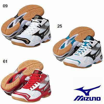 New Mizuno Volleyball Shoes Wave stardom RX2 MID V1GA1455 Freeshipping!!