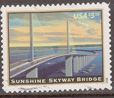Scott #4649 Used Single, American Landmarks - Sunshine Skyway Bridge (Off Paper)