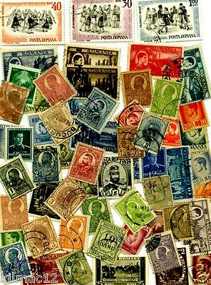 L@@k, Romania. Selection Of Old Postage Stamps.. 2 Scans..