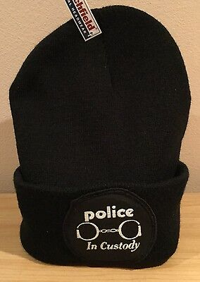 The Police Vintage Patch Hat Upcycled Reggae Pop Sting