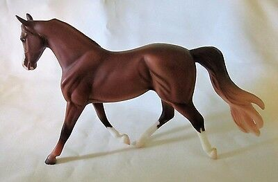 Breyer Classic Morgan Mare Model Marigold Horse Figurine Shaded Chestnut Color