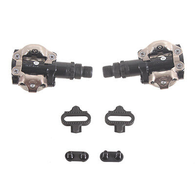 Shimano PD M520 Clipless MTB Mountain Bike Pedals with Cleats Black