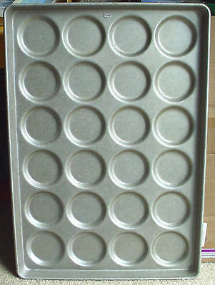 Ecko Commercial Muffin Top Full Size Sheet Baking Pan 24 A Time! 17 3/4 X 25 3/4