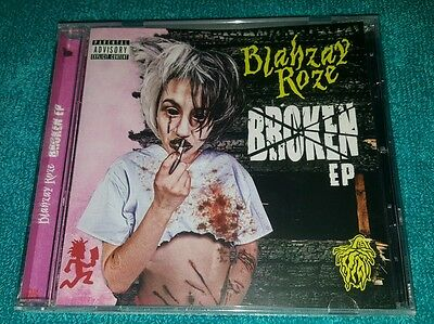 NEW SEALED BLAHZAY ROZE BROKEN EP CD PSYCHOPATHIC RECORDS SOLD OUT icp twiztid
