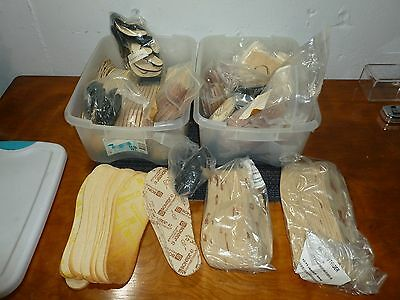 Wintersteiger Insole Shims Size and other Rental Fleet Boot Parts Huge Lot, NEW!