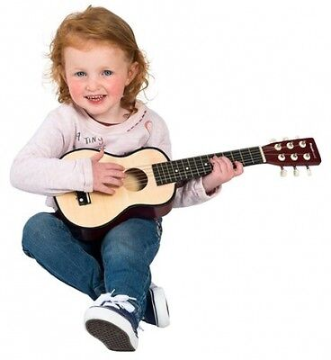 Kids Toddlers Baby Natural Guitar - My First Childrens Guitar - Fun Instrument